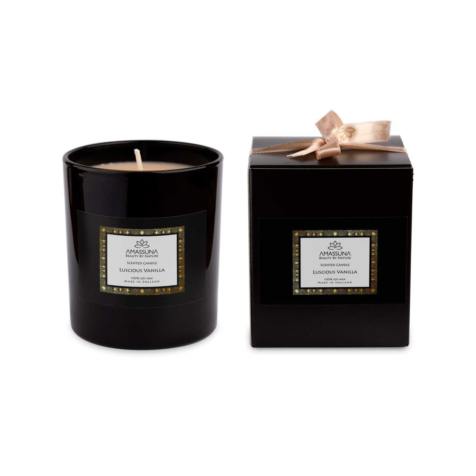 Luxury Soya Wax Candle With Fragrance Oils